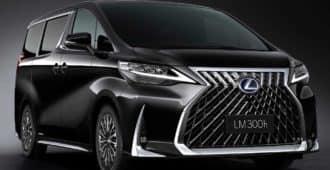 минивен Lexus LM