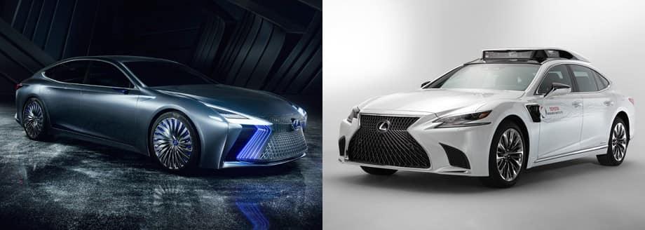 водородный седан Lexus LS