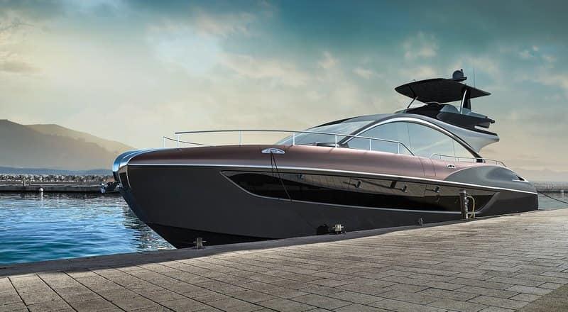 Компания Lexus презентовала серийную яхту LY 650