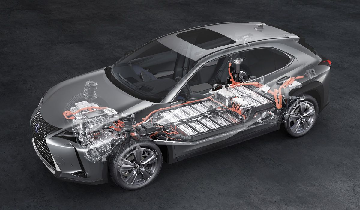Электромобиль Lexus US UX 300e