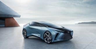 Концепт-кар от Lexus F-30 Electrified
