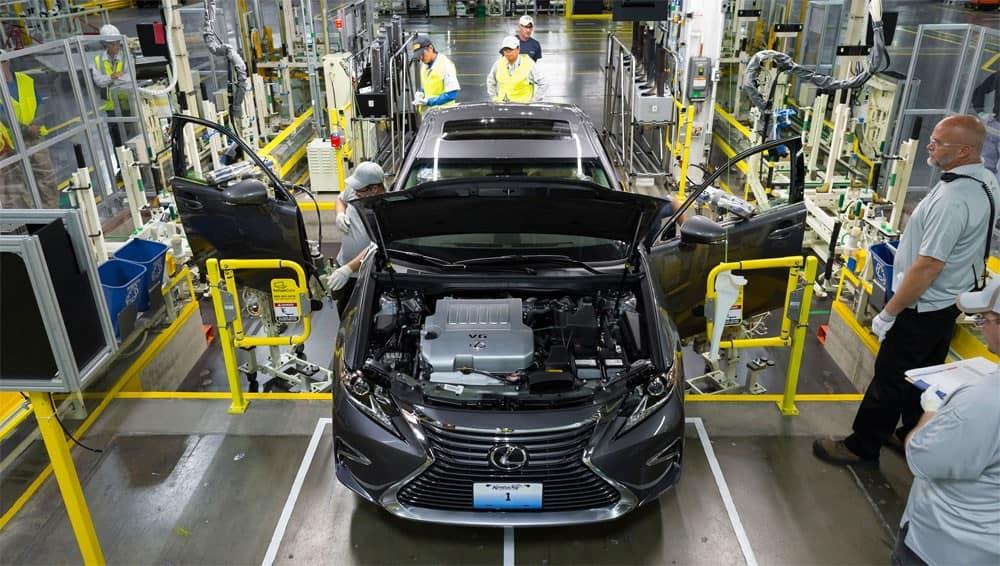 Lexus ES350 собранный в США